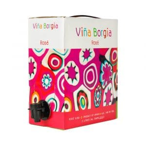 Viña Borgia Rosado 3 litros (bag in box)