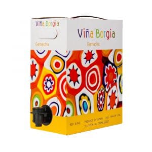 Viña Borgia Tinto 3 litros (bag in box)